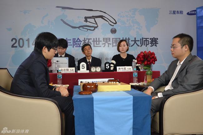 LG杯唐韦星金志锡上演世冠对决 柯洁战韩新锐