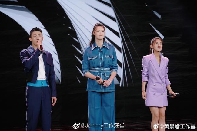 187cm的黄景瑜遇上192cm的惠若琪 网友:好小一只