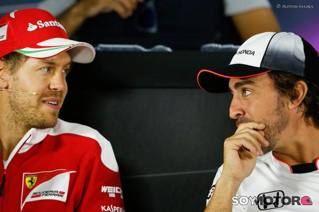 传维特尔与阿隆索将争夺赛点车队一个正赛席位