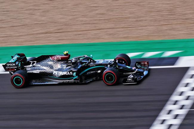 F1七十年大奖赛排位赛:博塔斯杆位 霍肯伯格P3