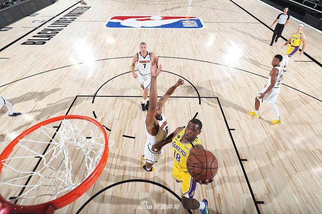 全替补第四节36-33湖人首发! NBA最妖气的队