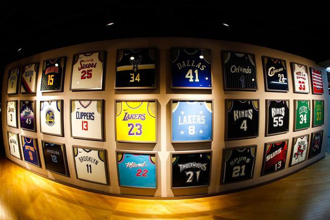 NBA球衣墙