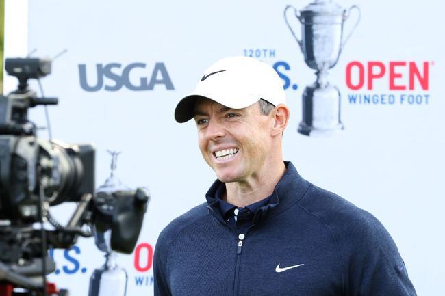麦克罗伊美国公开赛接受赛前采访