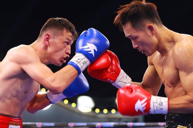 赵俊伦哈斯上演TKO 李佳佳坚持6回合判定晋级