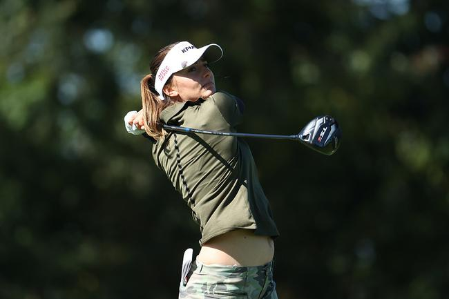 斯皮科娃因慢打被罚2杆 女子PGA锦标赛差1杆淘汰