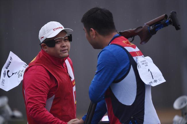全国射击锦标赛 刘杰获男子飞碟多向个人赛冠军