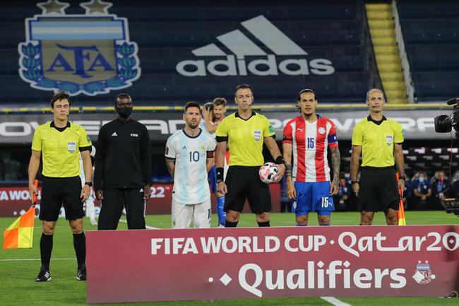 世预赛-梅西进球无效 热刺大将助攻 阿根廷1-1平