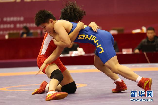 2020年全国U20国际式摔跤锦标赛在安徽淮北完赛