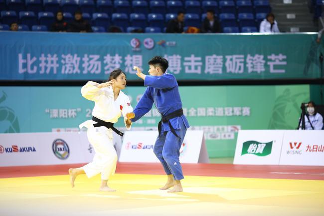 全国柔道锦标赛溧阳举行 为东京奥运会打好基础