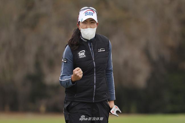戴口罩打美国女子公开赛很显眼 金阿林:我有担心