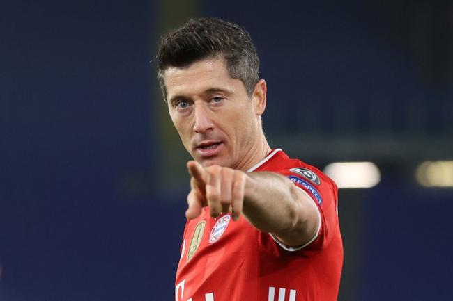 莱万欧冠72球超劳尔升第3!近2季进球远超C罗梅西