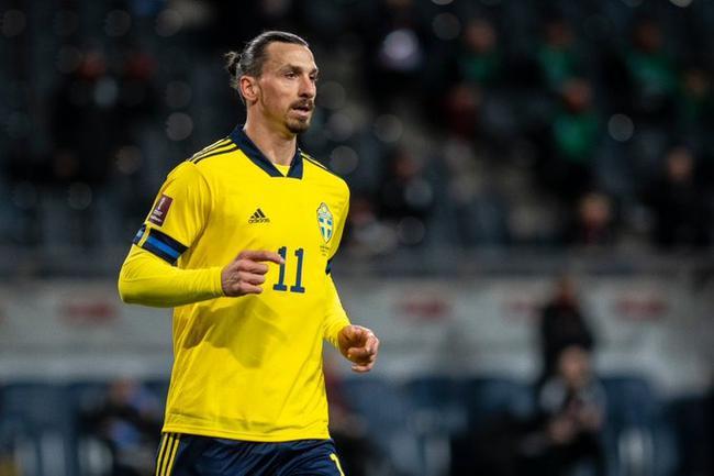 伊布39岁17天国家队首发破纪录 风骚助攻瑞典1-0