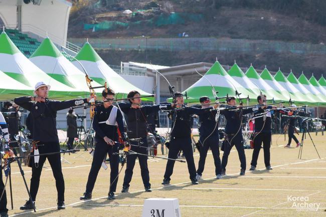 韩国射箭奥运阵容16选6 里约金牌得主提前出局