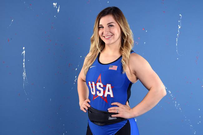 凯特-奈在女子76公斤级中夺牌希望大增