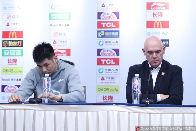 斯帕夏:恭喜浙江取得好战绩 我们也拼到最后
