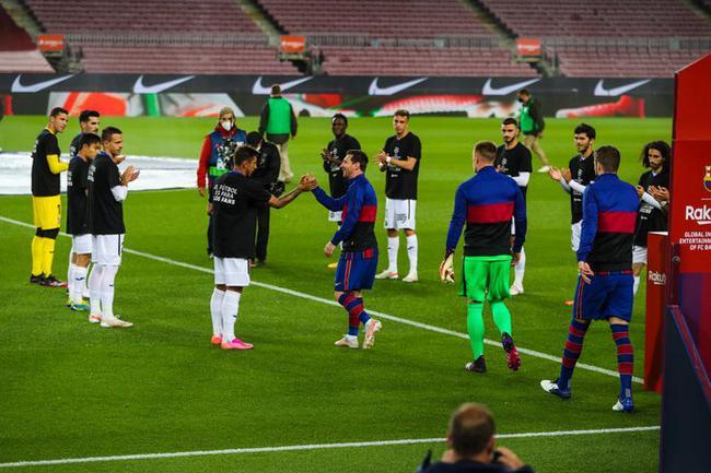 西甲-梅西双响 两将乌龙 巴萨5-2取胜距榜首5分