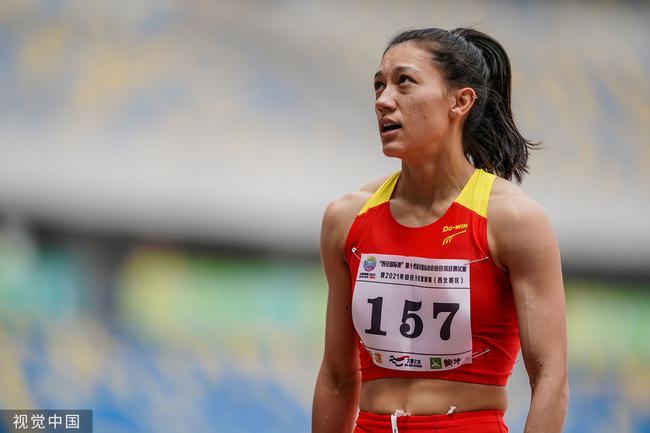 郑妮娜力七项全能第一 仍未达东京奥运会资格线