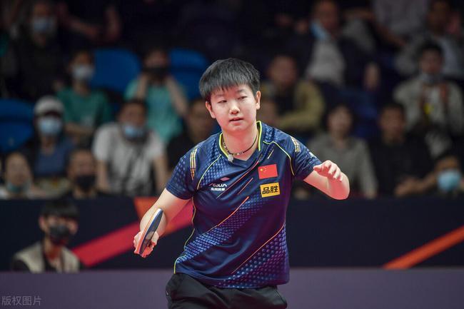 奥运模拟陈梦第6局连下6分 4-2孙颖莎夺女单冠军