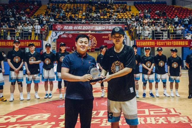 2021广东女子篮球联赛落幕 东莞击败佛山四连冠