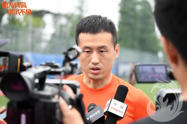 央視專訪田依濃:中超每支隊都不好踢 不會失去信心