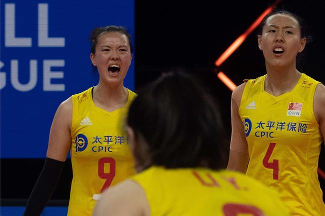 中国女排2-3负加拿大遭世联赛第二败 张常宁22分