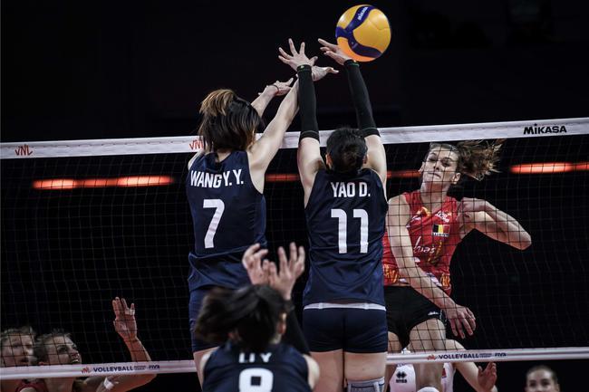 中国女排2-3比利时遭三连败 张常宁37分难救主