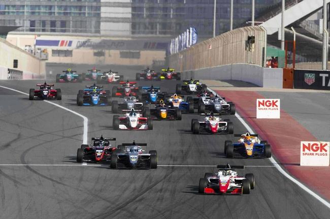 國際汽聯亞洲F3錦標賽2022賽季將于2022年1月中旬開賽