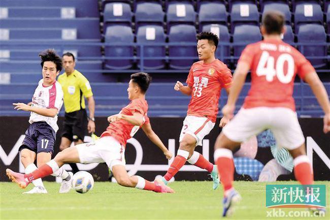 廣州亞冠首場不敗紀錄告破 但競技狀態和拼搏精神沒丟