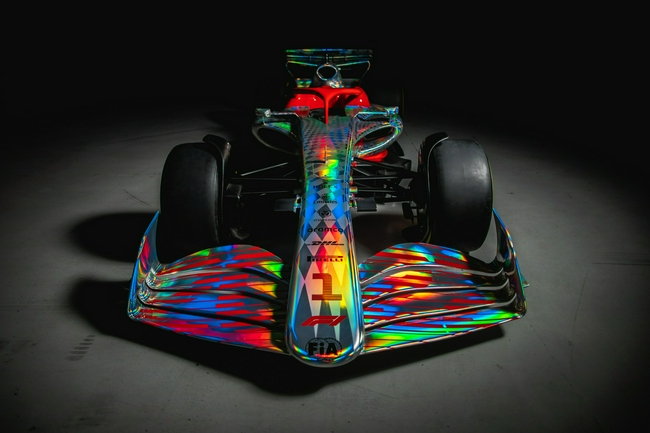 F1官方发布2022新车实体模型 跟车更容易比赛更好看