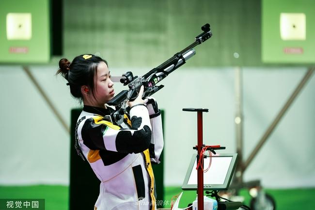 女子10米气步枪杨倩绝杀 勇夺东京奥运会首金