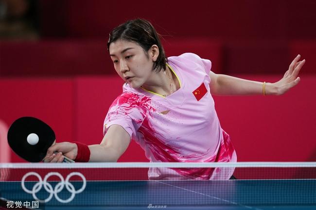 【博狗扑克】国乒女单奥运九连冠 陈梦比肩六位传奇大师姐