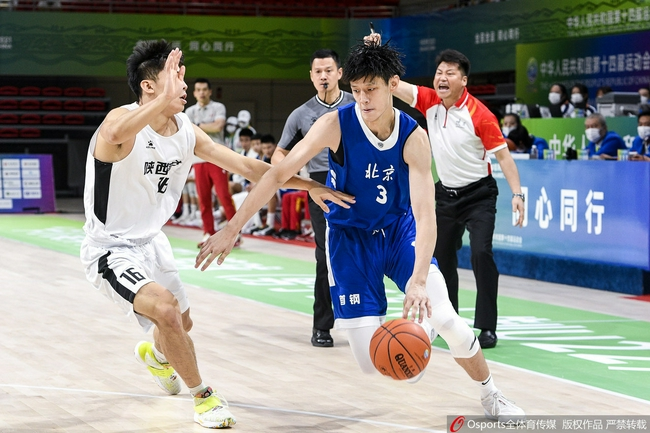 全运会男篮:杨文学18+18 东道主发威力取北京