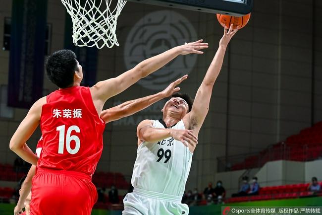 全运会男篮:陶汉林20+10 山东艰难过关排第五