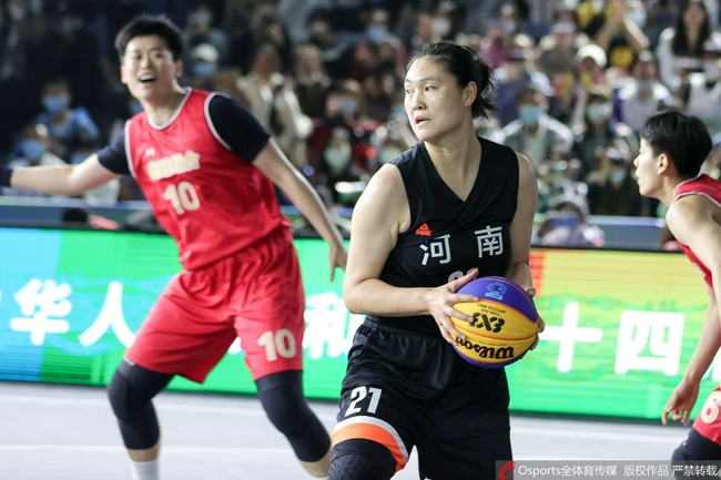 【博狗体育】三人女篮联合队全胜夺金牌 万济圆8分击败河南