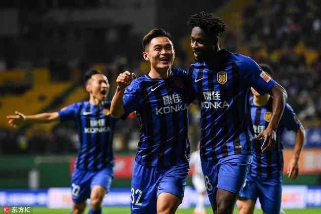 中超-超级新星进球+造点 苏宁客场2-0完胜富力