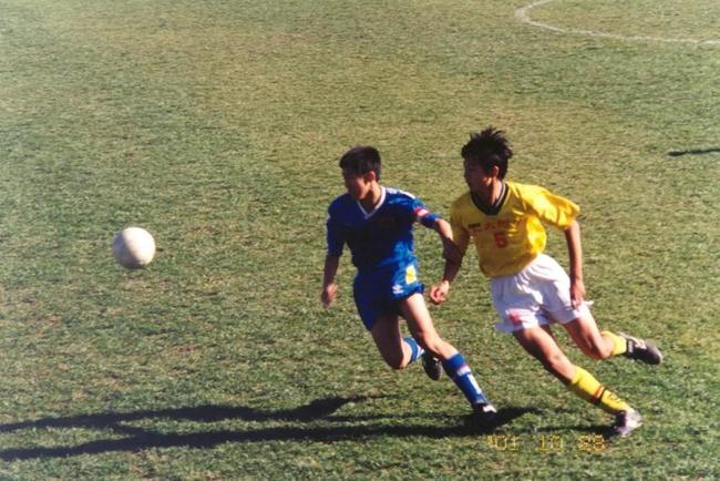 2001年 三高足球训练基地