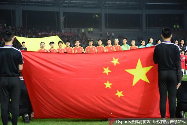 中国女足在进展(原料图)