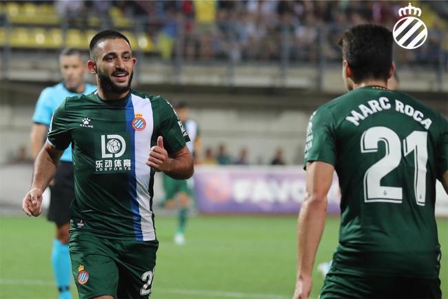 欧联杯-武磊替补出场 西班牙人2度领先2-2进正赛