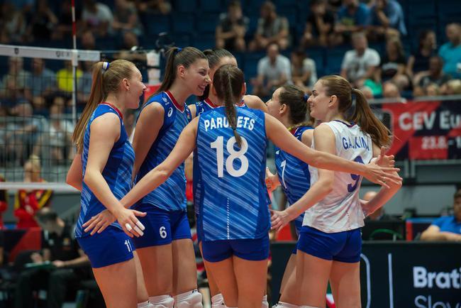 2019年女排欧锦赛八强产生 塞尔维亚意大利晋级