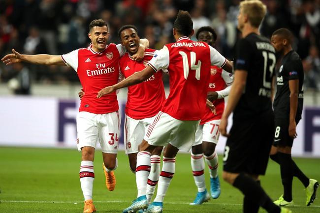 阿森纳3-0客胜法兰克福