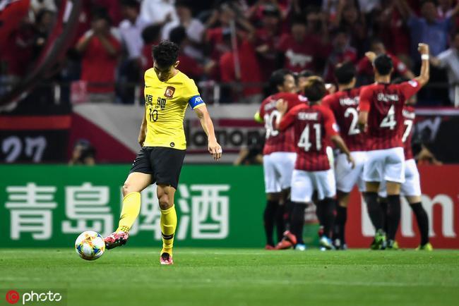 亚冠-韦世豪进球被吹 遭两记世界波 恒大0-2浦和