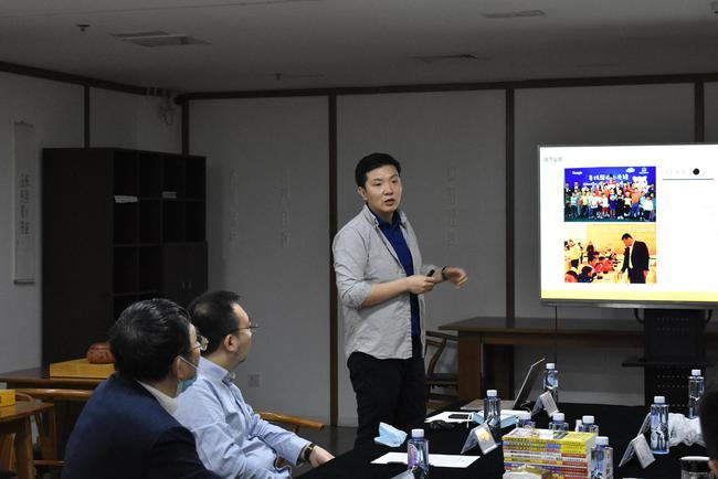 聂道CEO赵哲伦发言