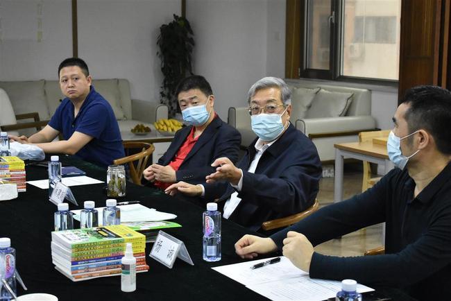 中国围棋协会主席林建超发言