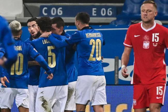 欧国联-因西涅贝洛蒂造进球 意大利2-0胜波兰领跑