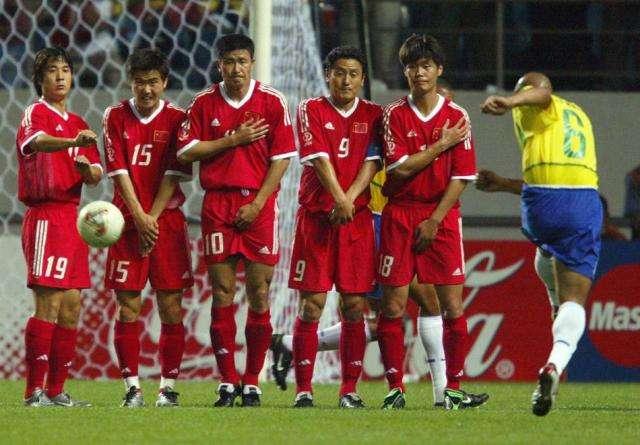 国足进入2002年韩日世界杯