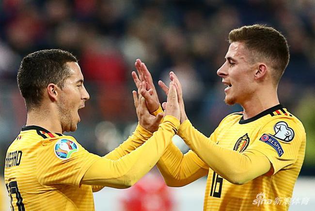 阿扎尔51场狂造48球!比利时冲击欧洲杯的最大底气
