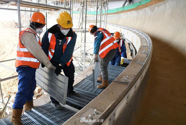 北京冬奥会延庆赛区建设现场