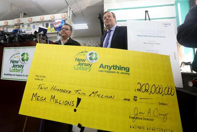 13.6亿元彩票巨奖得主时隔7个月匿名领奖