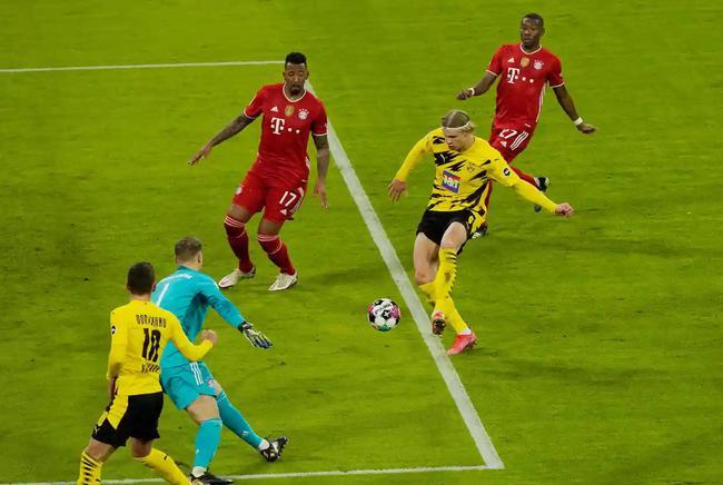 哈兰德本赛季场均1球太恐怖 单季对拜仁4球追C罗