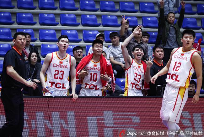 中国男篮大胜叙利亚